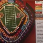 Yankees Stadium Seating Chart for Lafayette vs. Lehigh